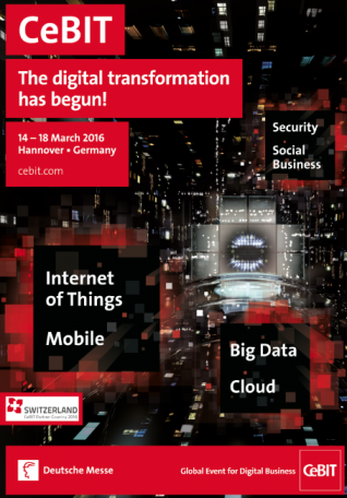 CeBIT - The digital transformation has begun!